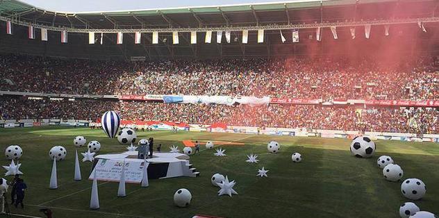 Kerbela Stadyumu dev organizasyonla açıldı