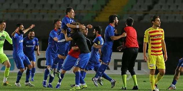Karabükspor Süper Lig'e geri döndü