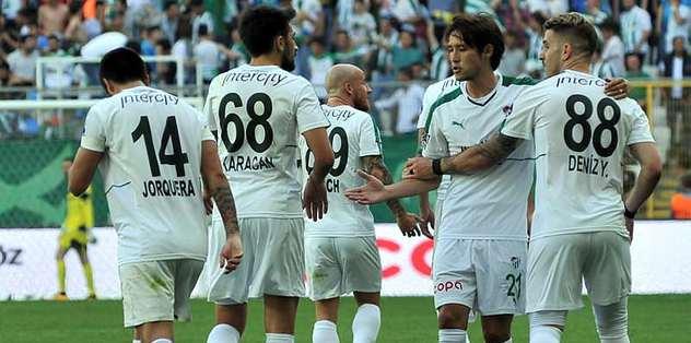 Bursaspor 6 maçında kazanmayı unuttu