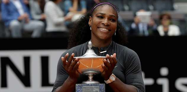 Şampiyon Serena Williams