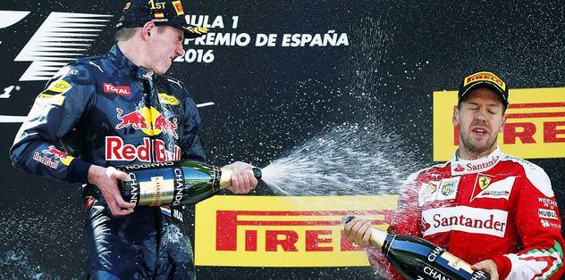 Formula 1 tarihine geçti