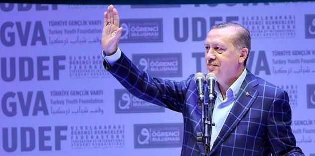 Erdoğan'dan kutlama