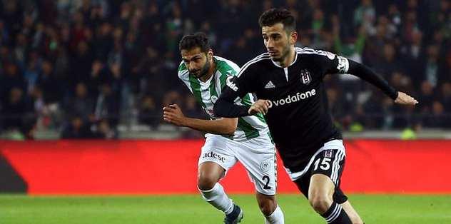 Beşiktaş ile T. Konyaspor 30. randevuda