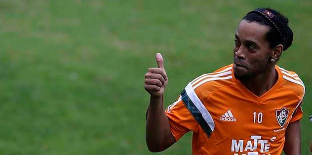 Ronaldinho Antalya'da