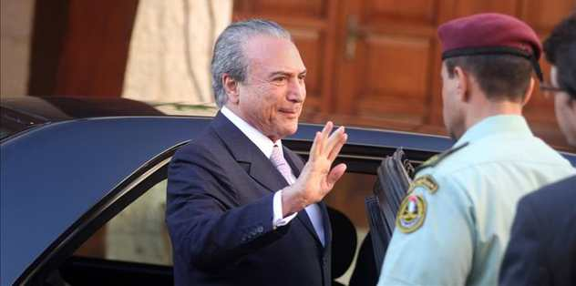 Temer tells Olympic committee Brazil ready for games
