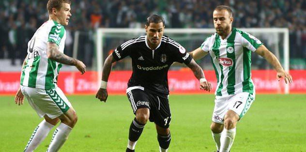 Konyaspor'dan Beşiktaş'a jest