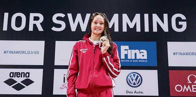 Viktoria Zeynep Güneş 6. oldu