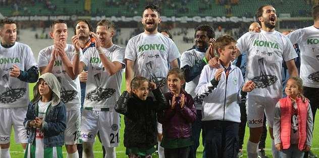 Torku Konyaspor'da UEFA coşkusu