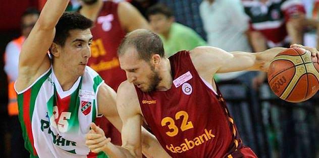 Galatasaray Kaf-Kaf'ı yıktı