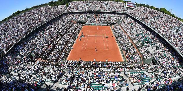 Grand slam heyecanı Fransa'da
