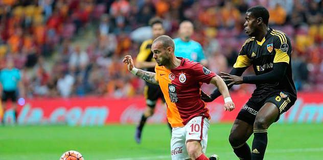 Sneijder'den büyük düşüş