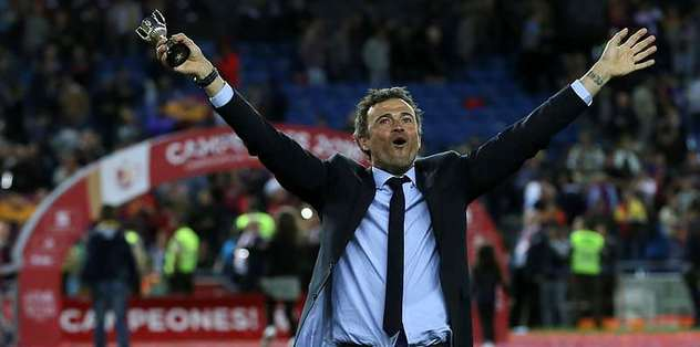 Luis Enrique thrilled with Barcelona's season