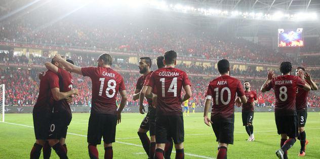 Türkiye'nin EURO 2016 fikstürü