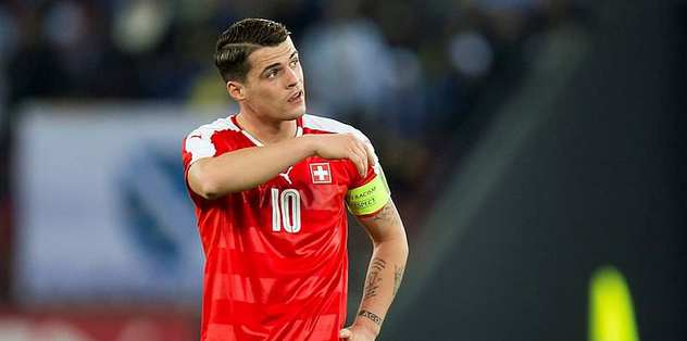 Xhaka caught between two nations