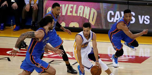 Stephen Curry'den 31 sayı