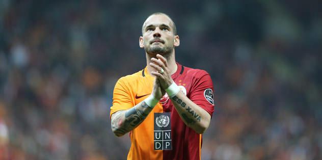 Sneijder kadrodan çıkarıldı