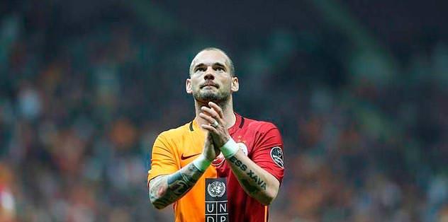 Sneijder bu kez korkuttu