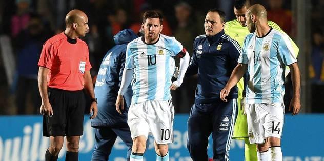Messi sakatlandı!