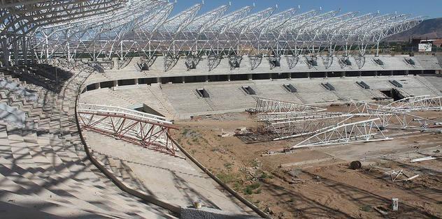 Malatya Arena'nın çatısı kapatıldı