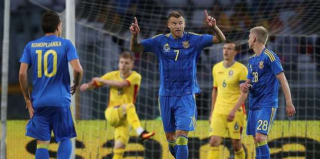 Ukraine beat sloppy Romania 4-3