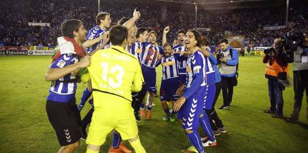 Alaves win promotion to La Liga