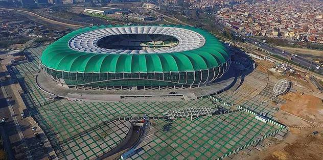 Timsah Arena'nın eksikleri tamamlanacak