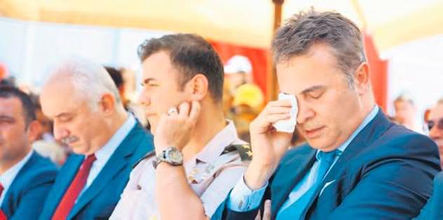 Başkan'ın gözyaşları