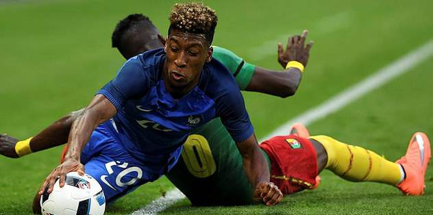 France's Coman shines in 3-2 win over Cameroon