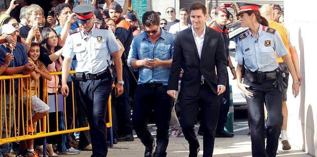 Messi ifade verecek