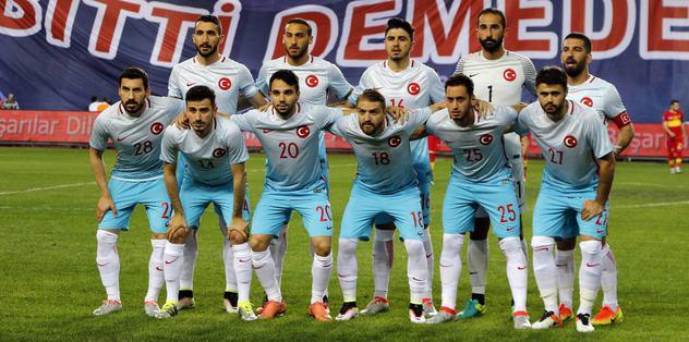 A Milli Takım'ın Euro 2016 kadrosu belli oldu!