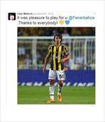Fenerbahçe'de oynamak zevkti