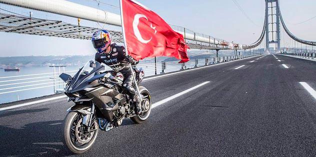 Osmangazi Köprüsü'nde hız rekoru
