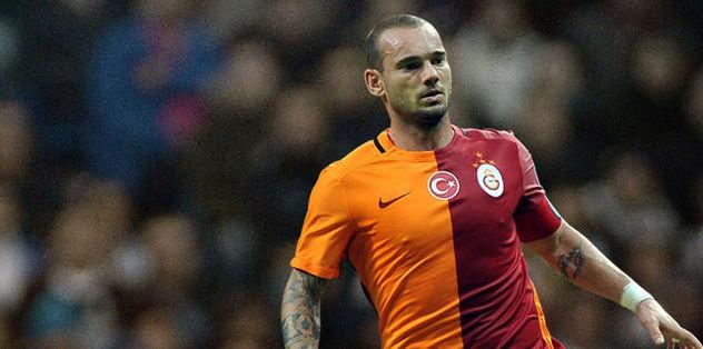 Sneijder, ilk antrenmana çıkmadı