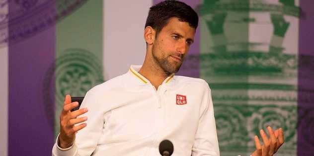 Djokovic: Tenisten uzaklaşacağım