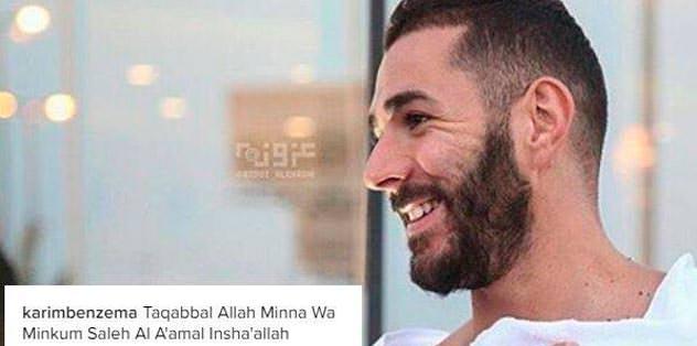 Karim Benzema Umre'ye gitti