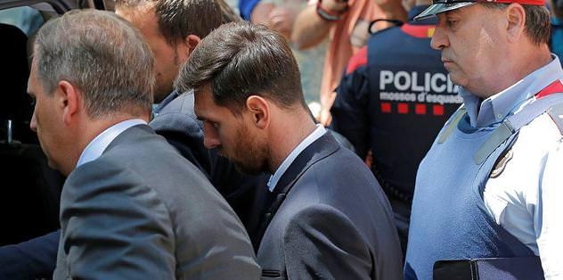 Messi'ye hapis cezası