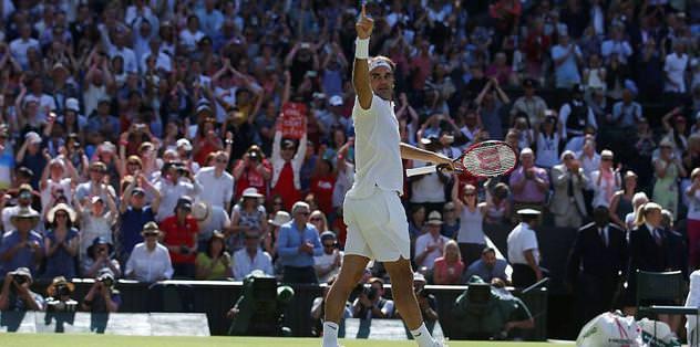 Roger Federer yarı finalde