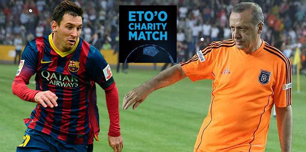 Erdoğan, Messi ile sahaya çıkacak