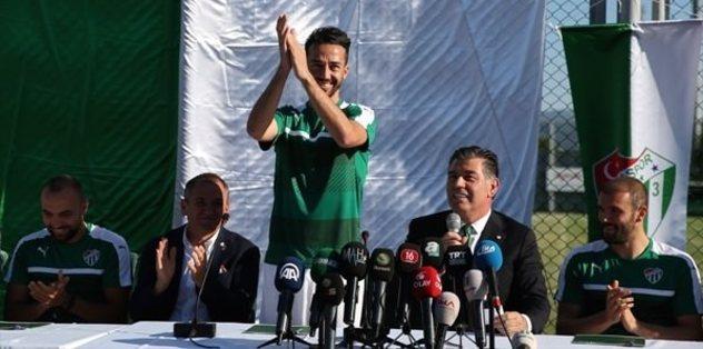"""""""Bursaspor'a geldiğimiz için çok mutluyuz"""""""
