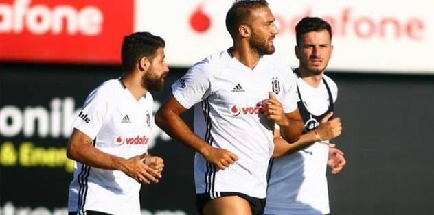 Beşiktaş'ta hazırlıklar sürdü