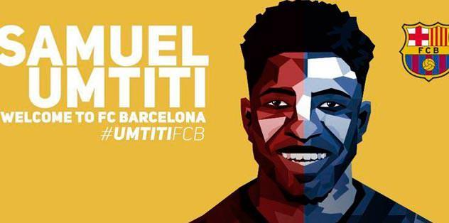 Umtiti Barcelona'da