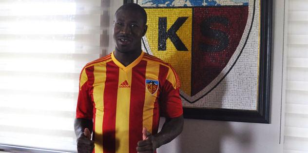 Nakoulma Kayserispor'da