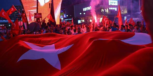 Thousands take to streets across Turkey for democracy