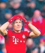 Robben'den şok haber