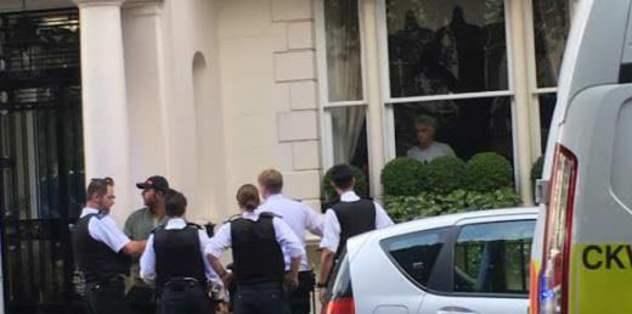 Mourinho'nun evine giren hırsız tutuklandı
