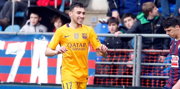 Haddadi 2019'a kadar Barcelona'da