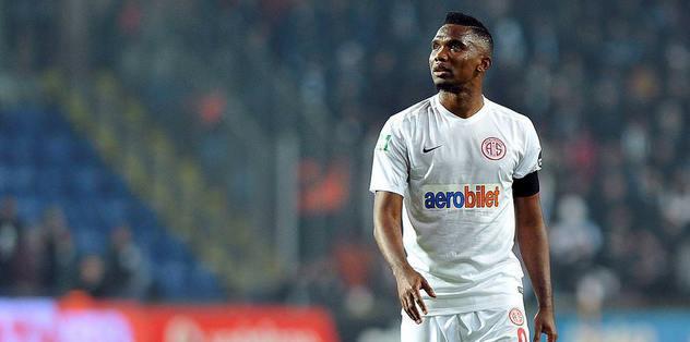 Eto'o'yu Beşiktaş'a satabiliriz