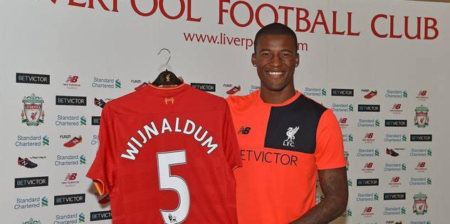Hollandalı yıldız Liverpool'da
