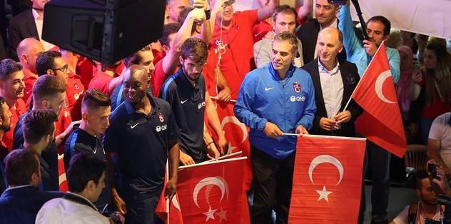 Trabzonspor demokrasi nöbetinde