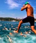 Boğaz'da yüzme şöleni